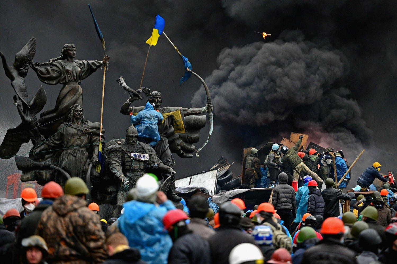 <> on February 20, 2014 in Kiev, Ukraine.